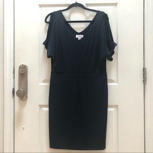 NWOT Velvet by Graham and Spencer dress! In Navy